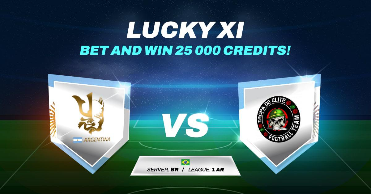 LUCKY XI BET AND WIN #12