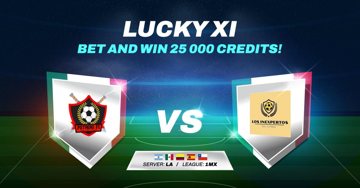 LUCKY XI BET AND WIN #14