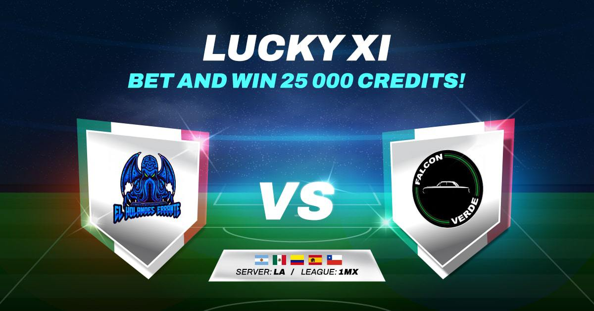 LUCKY XI BET AND WIN #18