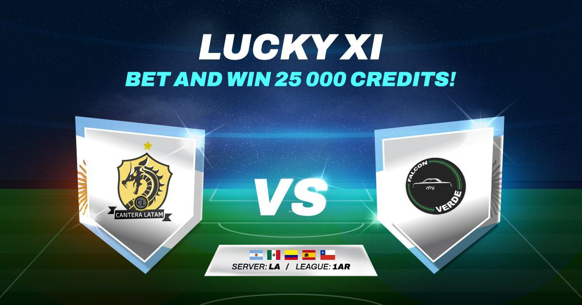 LUCKY XI BET AND WIN #2
