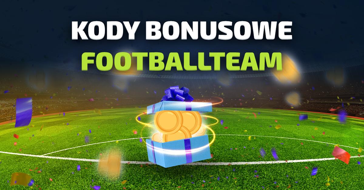 Kody bonusowe Football Team