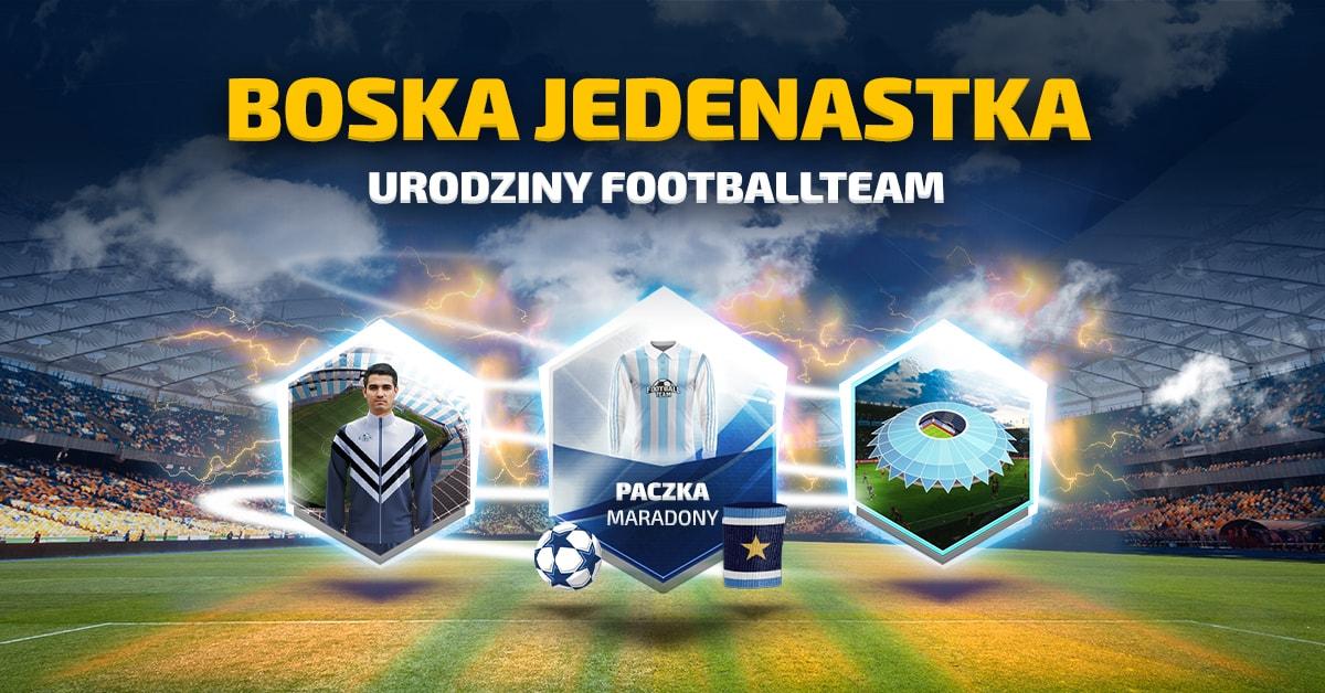 Boska Jedenastka - Urodziny Football Team