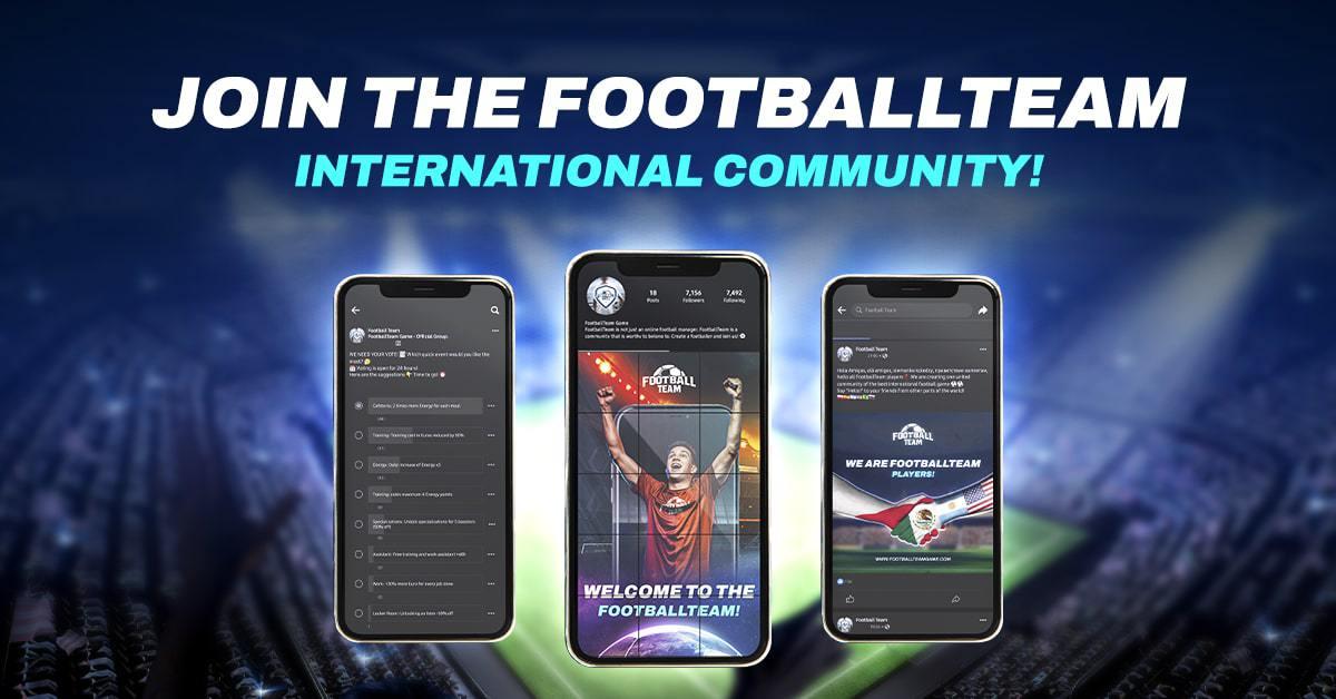 Join the FootballTeam Community!