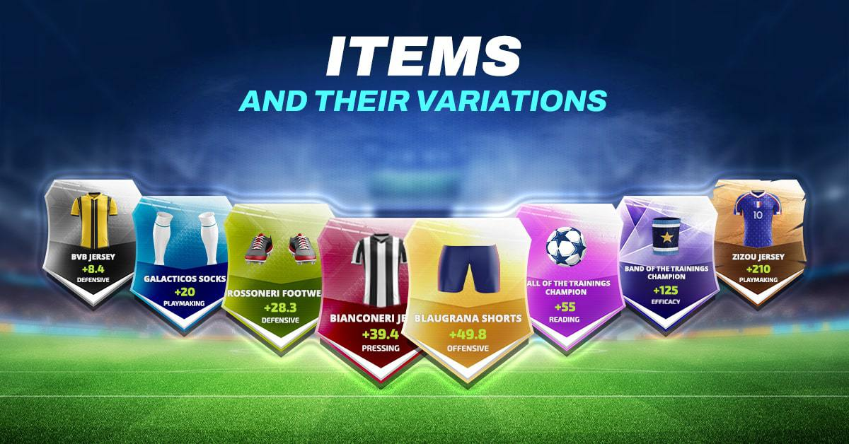 Items in FootballTeam