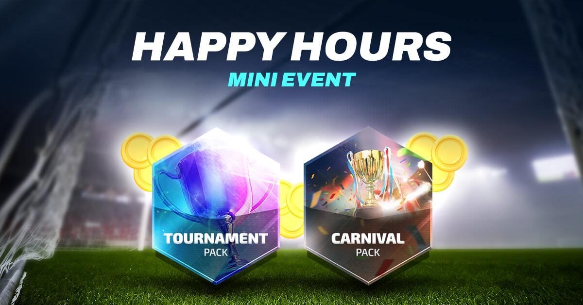 Mini Event - Paczka Karnawałowa i Turniejowa   Happy Hours