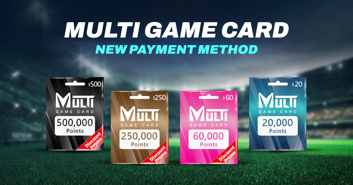 Multi Game Card - New Payment Method